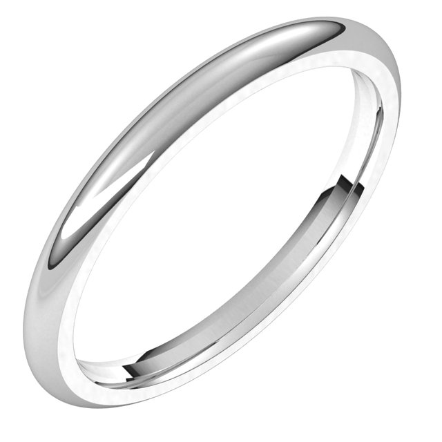 Wedding Bands - 2mm Wedding Band