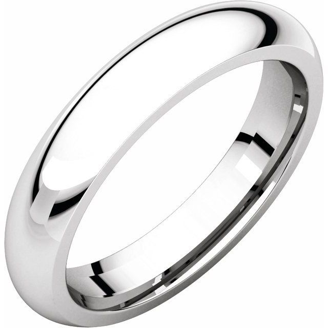 Ladies Wedding Bands - 3.5mm Wedding Band