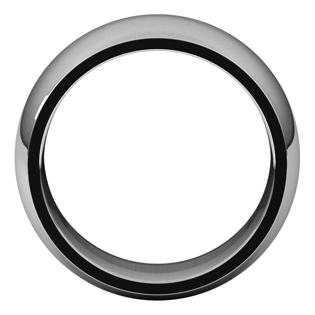 Mens Wedding Bands - 10mm Wedding Band - image 2