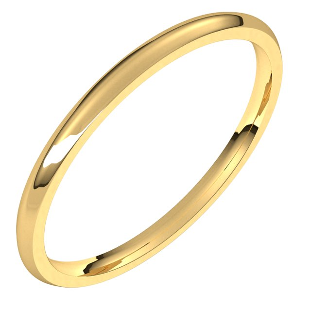 1.5mm Wedding Band by Stuller