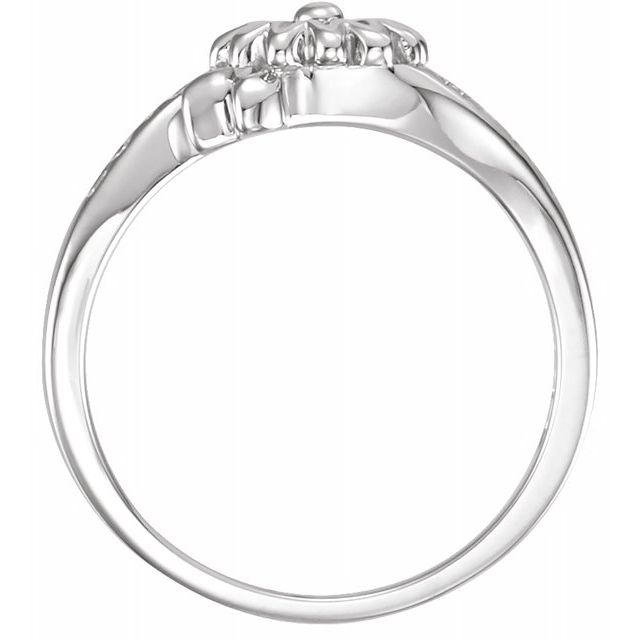 Anniversary Bands - Love Waits Chastity Ring - image #2