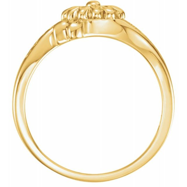 Gemstone Rings - Love Waits Chastity Ring - image #2