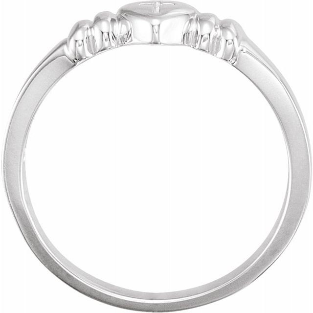 Rings - Heart with Cross Chastity Ring - image #2