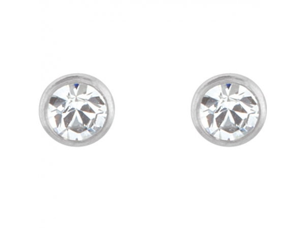 Gemstone Earrings - Crystal Inverness® Piercing Earrings  - image #2