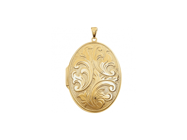 Pendants - 14K Yellow Gold-Filled Sterling Silver Pendant