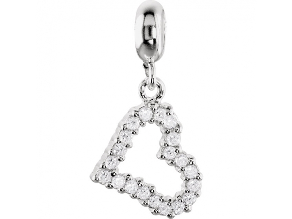 Sterling Silver Charm - Polished Sterling Silver Charm