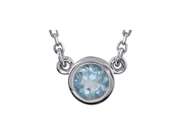 Pendants - Aquamarine Necklace