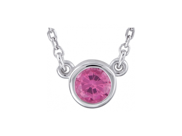 Gemstone Necklaces - Pink Spinel Necklace