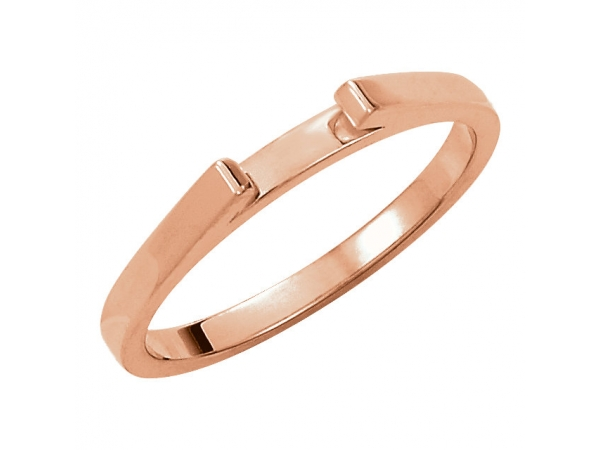 Fine Jewelry - 10K Rose Gold Band