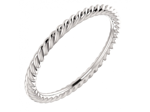 Engagement Rings - Skinny Rope Band