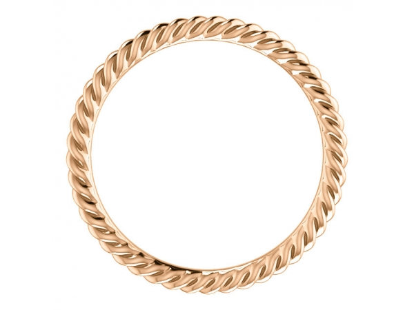 Wedding Bands - Skinny Rope Band - image 2