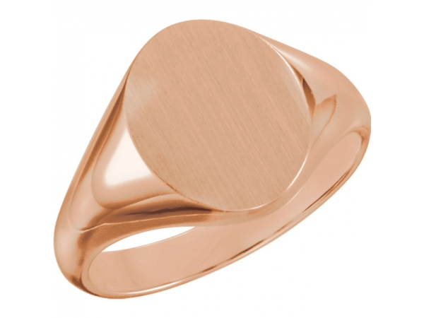 Fashion Rings - 10K Rose Gold Ring