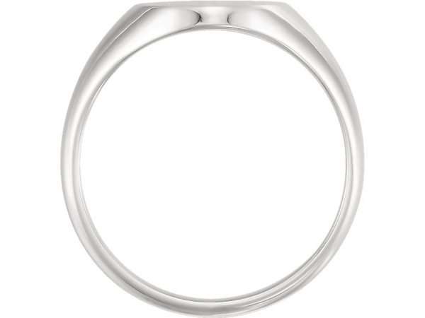 Fashion Rings - 10K White Gold Ring - image 2