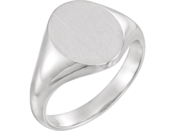 Fashion Rings - 14K White Gold Ring