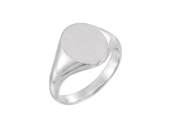 Rings - 18K White Gold & Palladium Ring