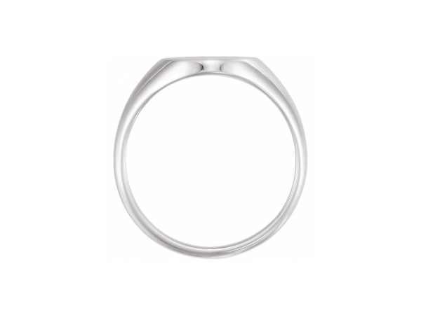 Rings - 18K White Gold & Palladium Ring - image #2