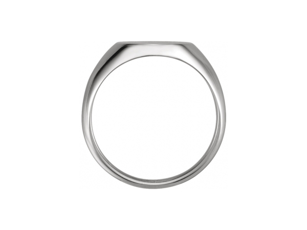 Fashion Rings - 18K White Gold Ring - image 2