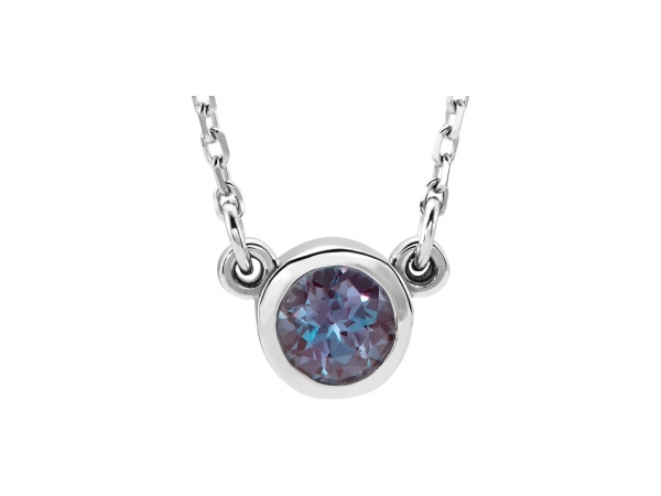 Gemstone Necklaces - Genuine Alexandrite Necklace