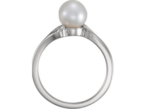 Rings - Solitaire Pearl Ring - image #2