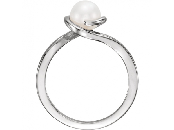 Rings - Bypass Pearl Ring - image #2