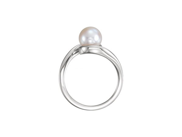 Gemstone Rings - Pearl Ring - image #2
