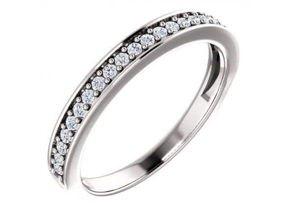 Anniversary Band - Platinum 1/5 CTW Diamond Band