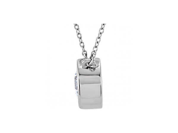 Gemstone Necklaces - Cubic Zirconia Necklace - image #2