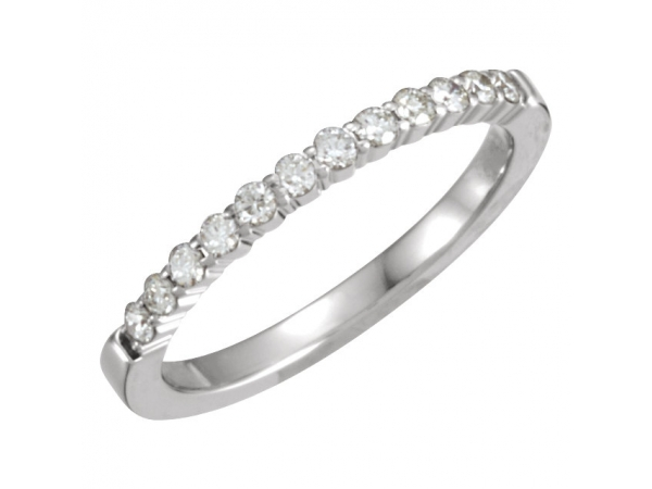 Anniversary Band - 14K White 1/4 CTW Diamond Anniversary Band