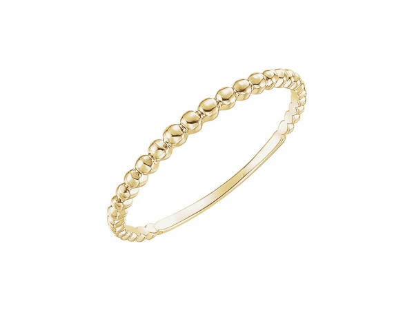 14K Yellow Gold Ring by Stuller