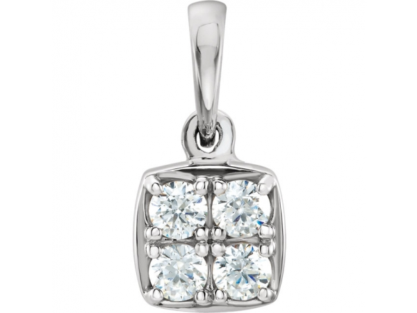 Diamond Pendant by Stuller
