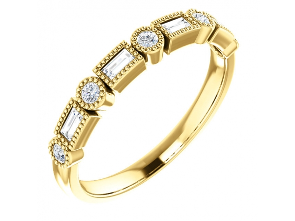 Anniversary Band - 14K Yellow 1/4 CTW Diamond Anniversary Band