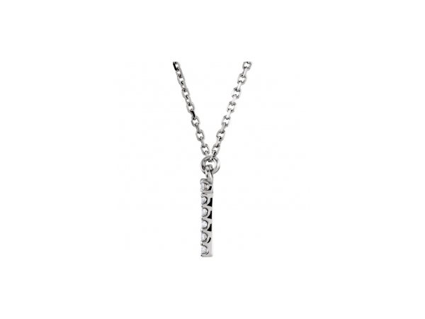 Diamond Pendants - Genuine Diamond Necklace - image #2