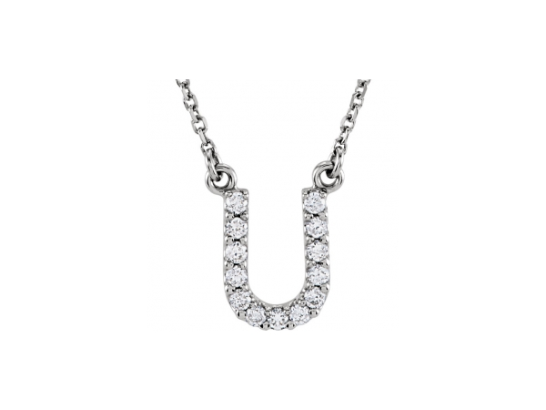 Diamond Pendants - Genuine Diamond Necklace