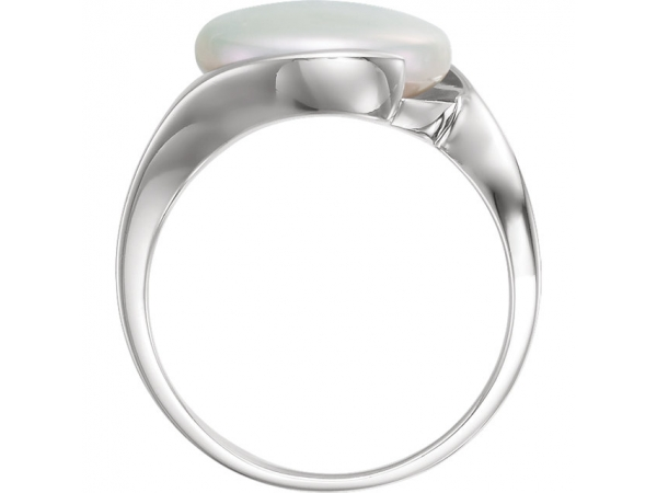 Rings - Coin Pearl Ring - image #2