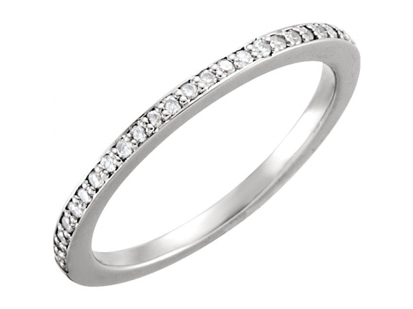 Anniversary Bands - Halo-Style Engagement  Ring  Matching Band