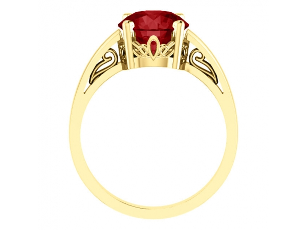 Rings - Scroll Setting® Ring - image 2