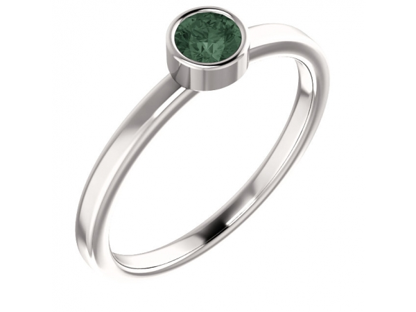 Gemstone Rings - Genuine Alexandrite Ring