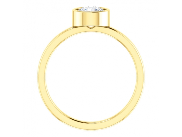 Rings - Bezel Set Solitaire Ring - image 2