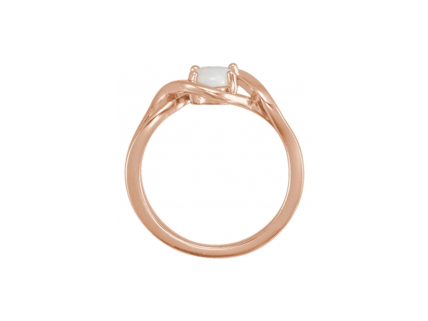 Gemstone Rings - Opal Ring - image #2