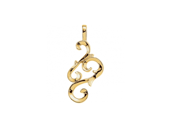 Pendants - 18K Yellow Gold Pendant