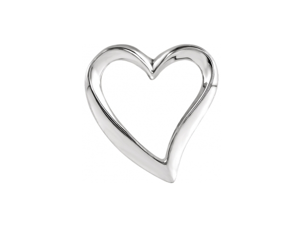 Sterling Silver Pendant - Polished Sterling Silver Pendant