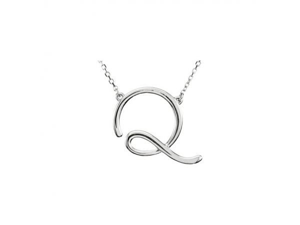 Necklaces - 14K White Gold Necklace