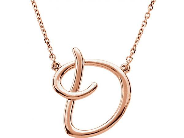 None 14K Rose Gold Necklace