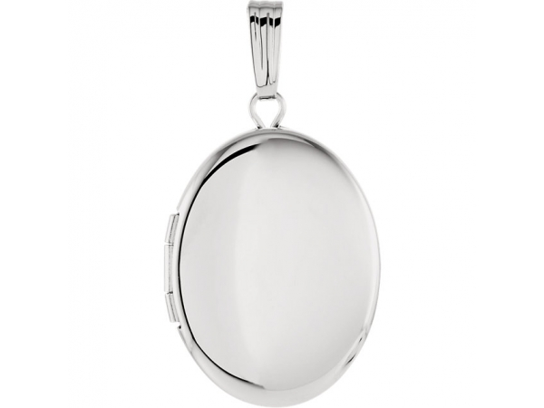 Oval Locket - Sterling Silver 28.9x16mm Oval Locket
