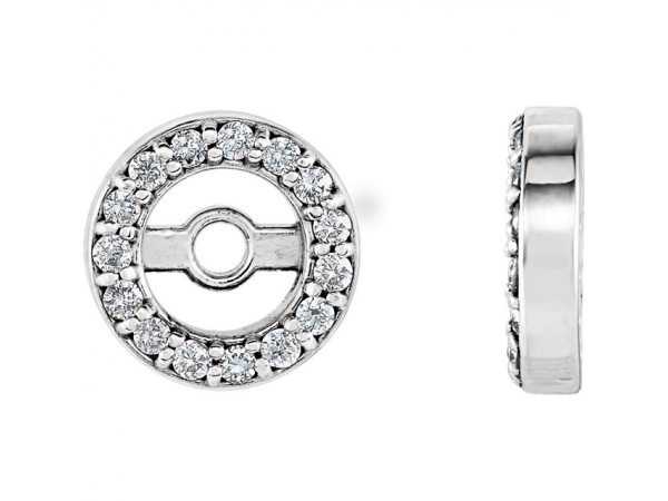 Earrings - Diamond Earring JacketsEarrin