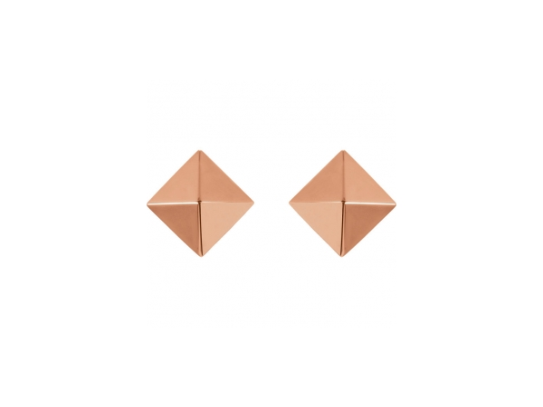 Earrings - 18K Rose Gold Earrings - image #2
