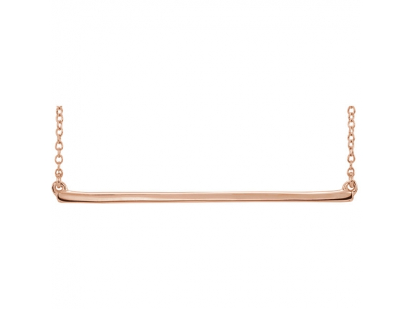 Necklaces - 14K Rose Gold Necklace