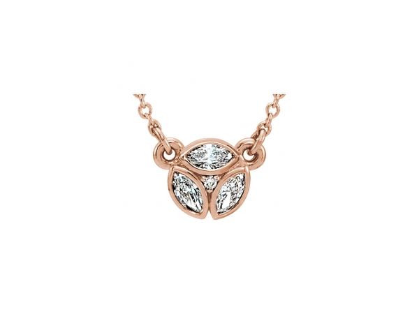 Diamond Pendants - Diamond Necklace