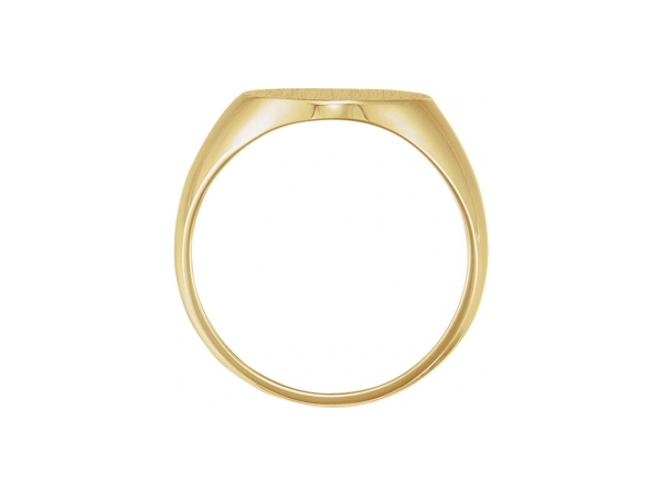 Rings - 14K Yellow Gold Ring - image #2