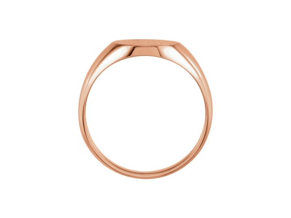 Rings - 10K Rose Gold Ring - image #2